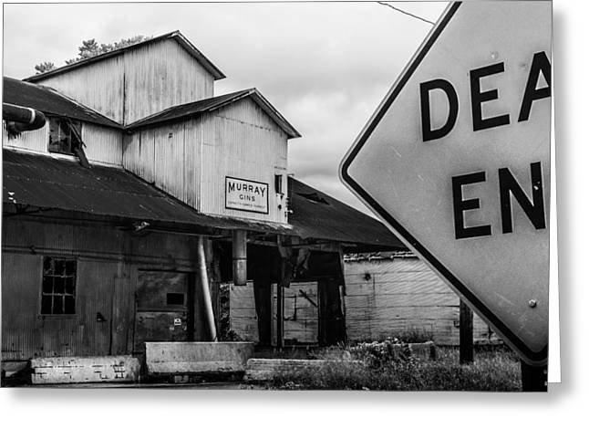 Dead End Greeting Card by Jon Woodhams