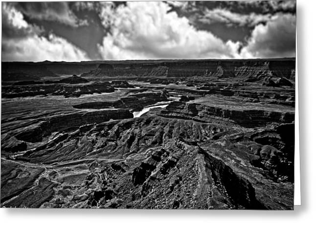 Dead Horse Point Utah Greeting Card by Bob and Nadine Johnston