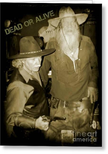 Dead Or Alive Greeting Card by John  Malone