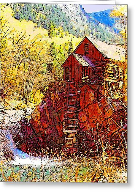 Deadhorse Mill Greeting Card