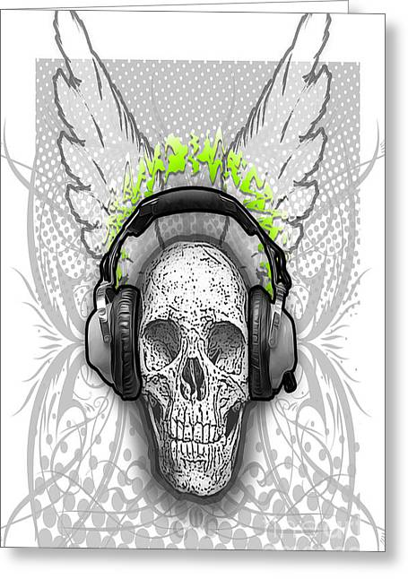 Deadly Beats Greeting Card