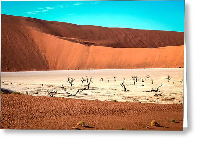 Deadvlei Greeting Card