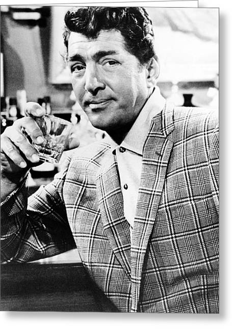Dean Martin In Kiss Me, Stupid  Greeting Card by Silver Screen