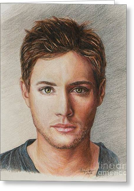 Dean Winchester / Jensen Ackles Greeting Card