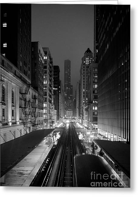 Greeting Card featuring the photograph Dear Chicago You're Beautiful by Peta Thames