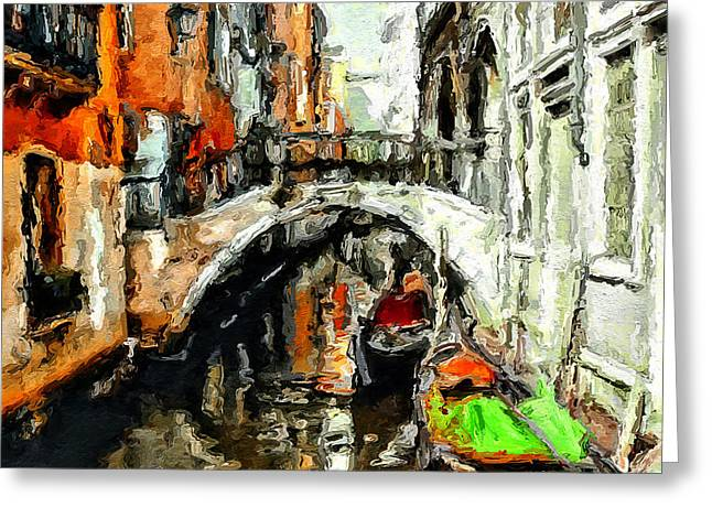 Dear Venice Greeting Card