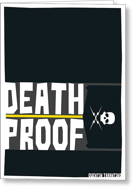 Death Proof Poster Greeting Card