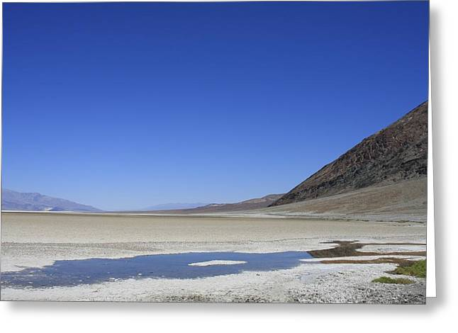 Death Valley Greeting Card by Kimberly Oegerle