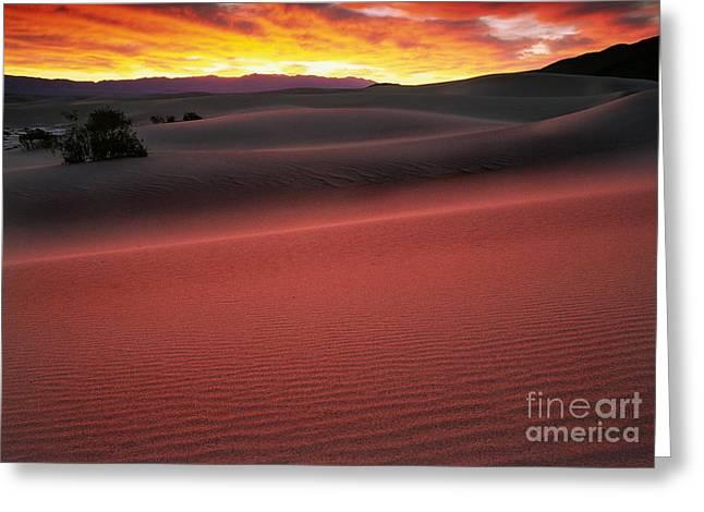 Death Valley Sunrise Greeting Card