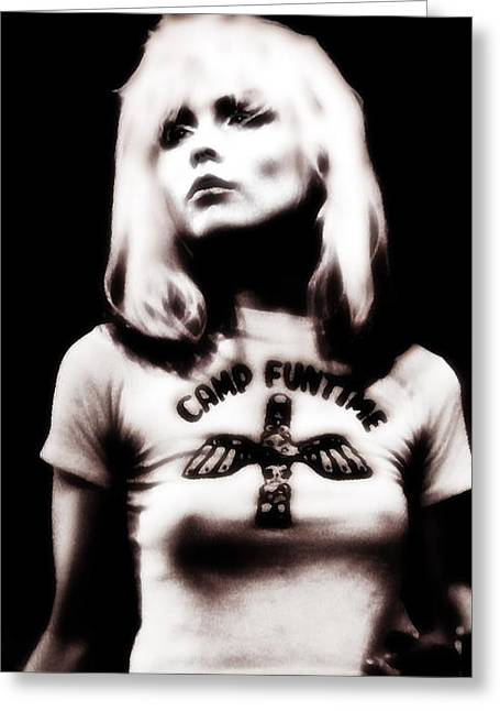 Deborah Harry Greeting Card