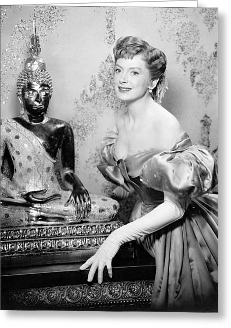 Deborah Kerr In The King And I  Greeting Card by Silver Screen