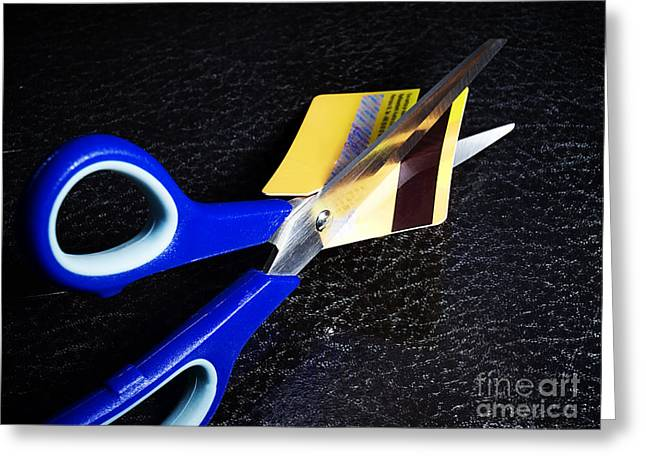 Debt Reduction Greeting Card