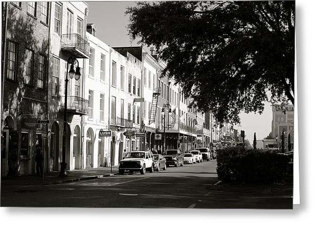 Decateur St. Greeting Card by Eric Dewar