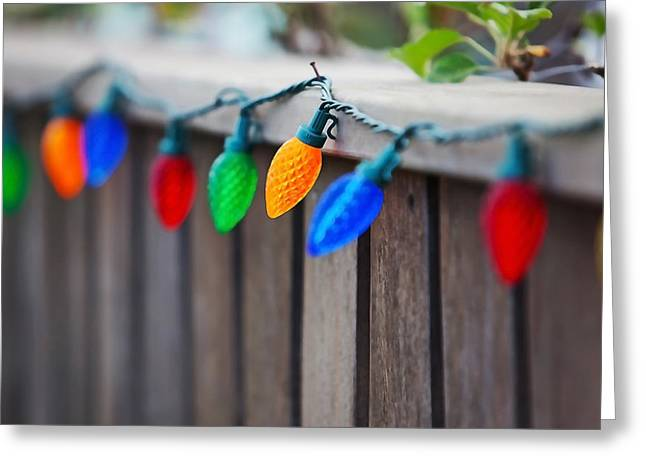 Deck The Fence Greeting Card