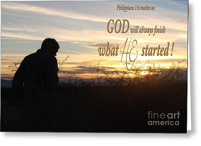 Declare Gods Word Greeting Card by Beverly Guilliams
