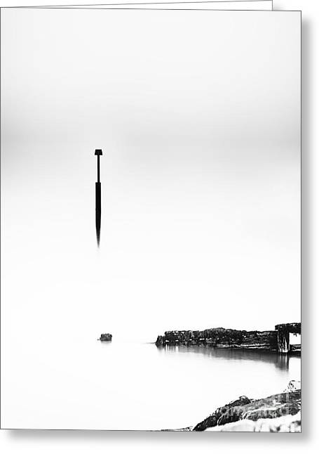 Deconstructed Seascape Greeting Card