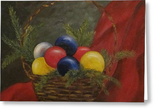 Decorated For Christmas Greeting Card by Nancy Craig