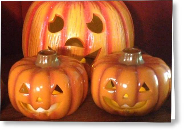 #decorating For #halloween With A Few Greeting Card