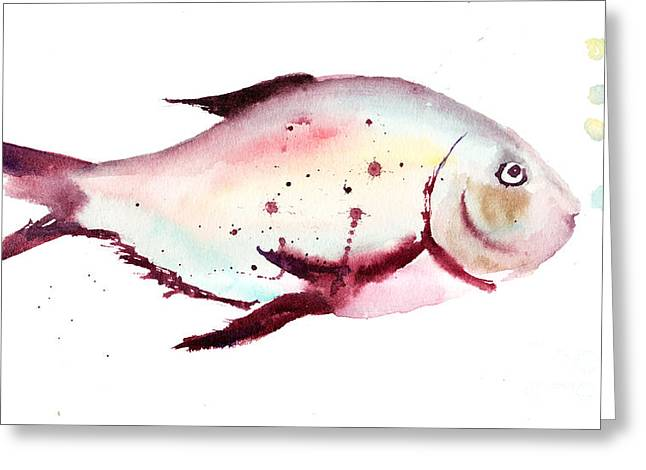 Decorative Fish Greeting Card