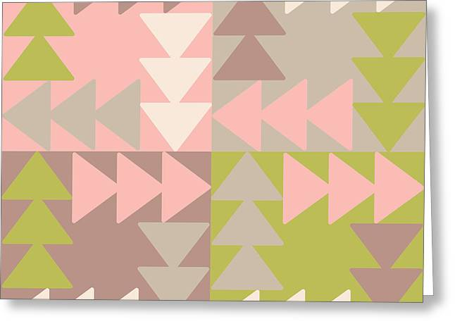Decorative Vector Poster Geometric Greeting Card