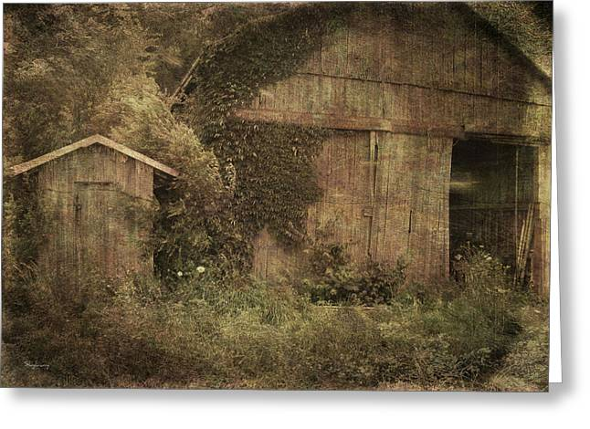 Decrepitude Greeting Card by Cynthia Lassiter