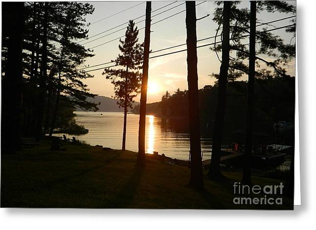 Greeting Card featuring the photograph Deep Creek Lake Park Md by Emmy Marie Vickers