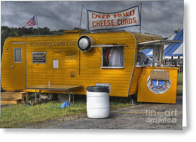 Greeting Card featuring the photograph Deep Fried Cheese Curds by Trey Foerster