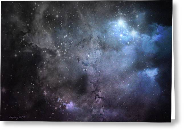 Greeting Card featuring the photograph Deep Space by Cynthia Lassiter