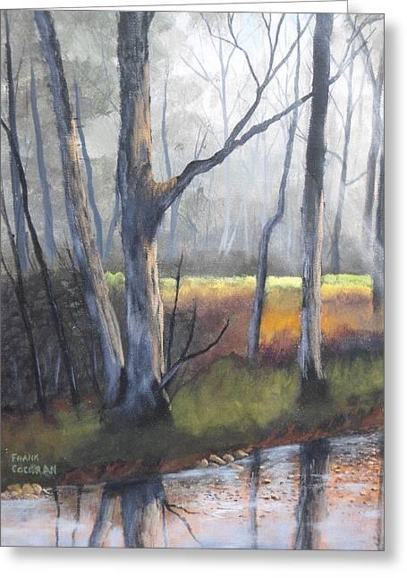 Deep Woods Greeting Card by Frank Cochran