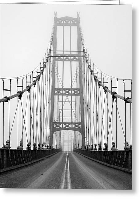 Deer Isle Bridge Greeting Card