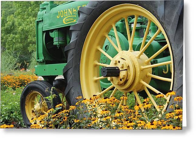 Deere 2 Greeting Card