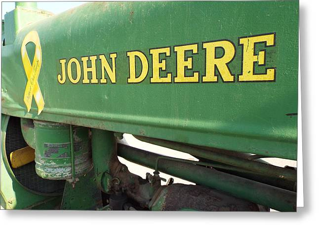 Deere Support Greeting Card