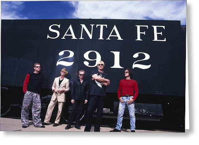 Def Leppard - Santa Fe 1999 Greeting Card by Epic Rights