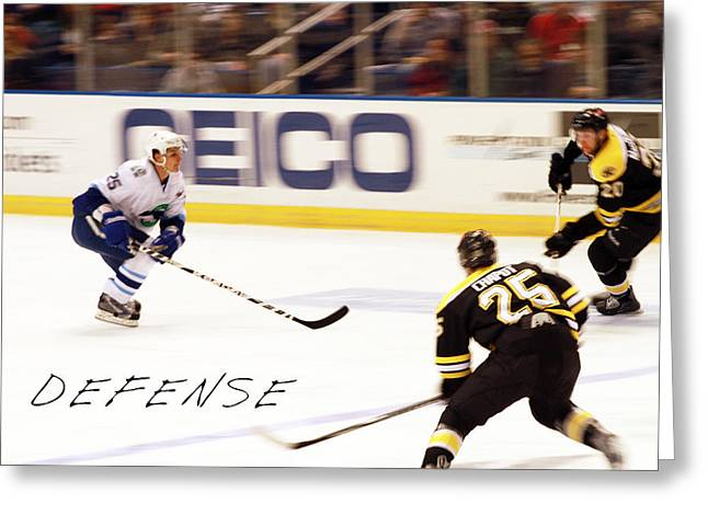 Defense Greeting Card by Karol Livote