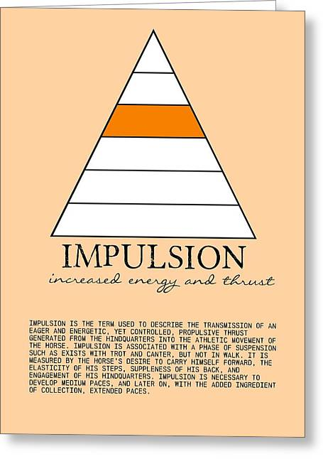 Define Impulsion Greeting Card by JAMART Photography