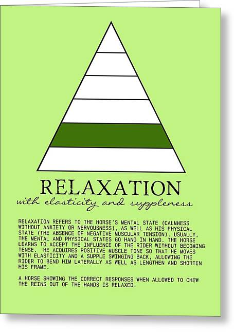 Relaxation Defined Greeting Card by JAMART Photography
