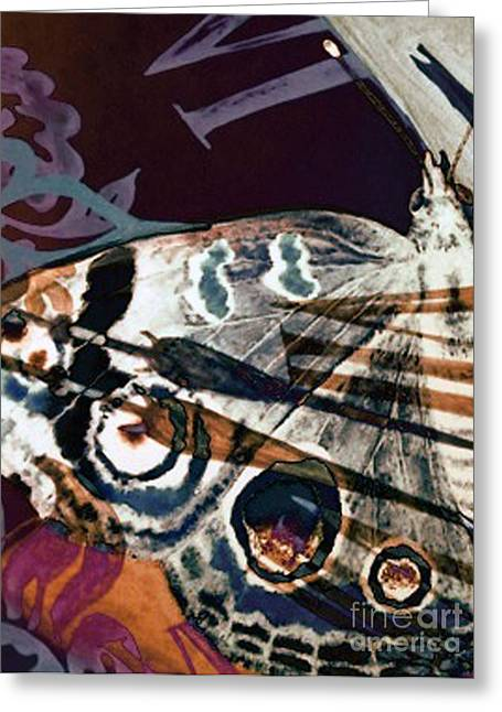 Defined Existence Greeting Card by Carole-Ann Ricketts