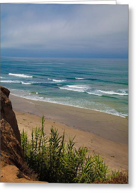 Del Mar Beach Greeting Card