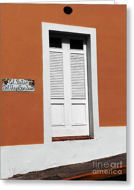 Del Viego San Juan Greeting Card