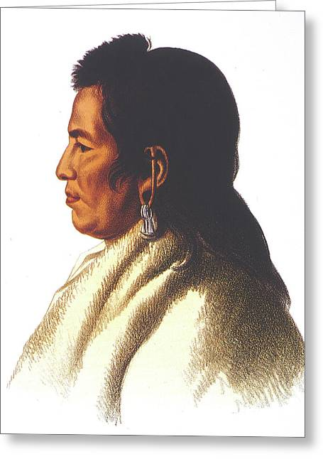 Delaware Native American Greeting Card by Granger