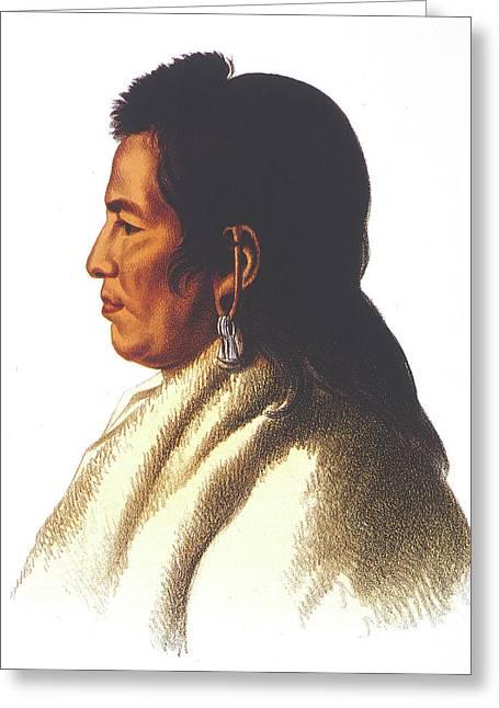 Delaware Native American Greeting Card