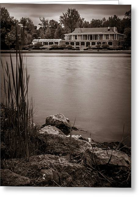 Delaware Park Marcy Casino Greeting Card
