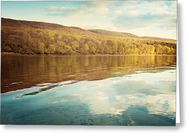 Delaware Water Gap Greeting Card by Carolyn Cochrane
