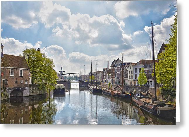 Delfshaven Rotterdam Greeting Card