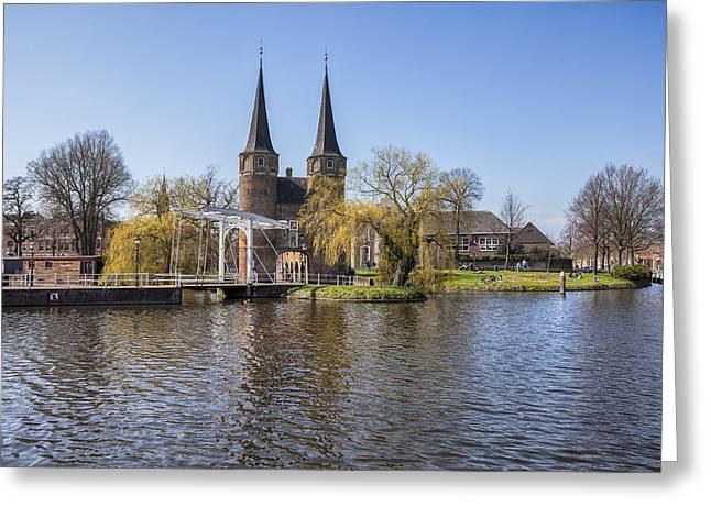 Delft Greeting Card by Joana Kruse
