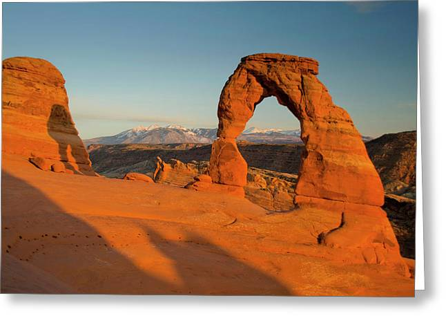 Delicate Arch, Arches National Park Greeting Card by Roddy Scheer