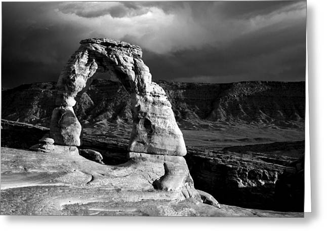 Delicate Arch IIi Greeting Card