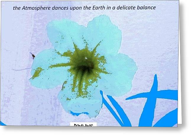 Delicate Balance Greeting Card
