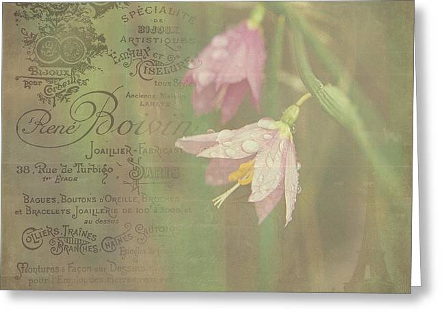 Delicate Blooms Greeting Card