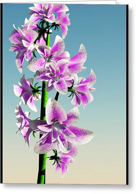 Delicate Flower... Greeting Card